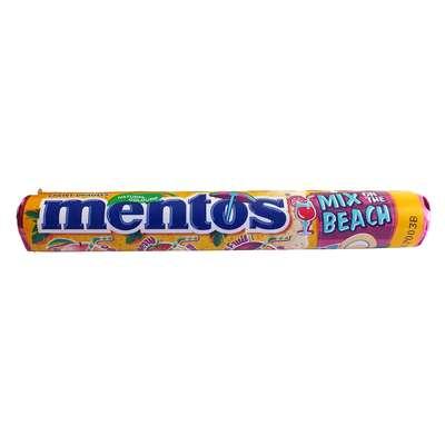 Жевательные конфеты Mentos Mix on the Beach 38 гр, фото 1