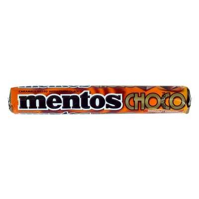 Жевательные конфеты Mentos Chocolate Caramel 38 гр, фото 2