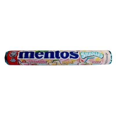 Жевательные конфеты Молочные коктейли Mentos Shakies 38 гр, фото 1