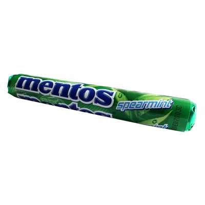 Жевательные конфеты Мята Mentos Spearmint 38 гр, фото 1