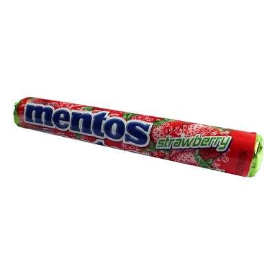 Жевательные конфеты Клубника Mentos Strawberry 38 гр, фото 1