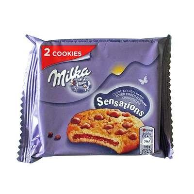 Печенье с шоколадным кремом для разогрева Milka Sensations 52 гр, фото 2