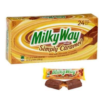 Шоколадный батончик Simply Caramel Milky Way 54 гр, фото 4