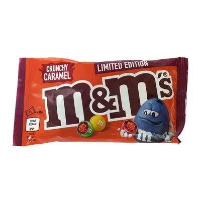 Шоколадное драже с хрустящей карамелью Crunchy Caramel M&M's 36 гр, фото 1