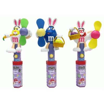 Игрушка вентилятор и драже Easter Candy Fan M&M's 13 гр, фото 1