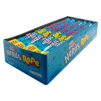 Конфета с леденцами Very Berry Nerds Rope Candy Wonka 26 гр, фото 6