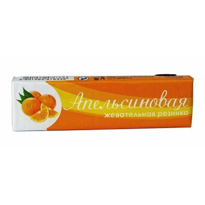 Жевательная резинка апельсиновая Plastinki Lotte 12,5 гр, фото 1