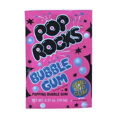 Жевательная резинка взрывные кристаллы Bubble Gum Pop Rocks 10,5 гр, фото 1
