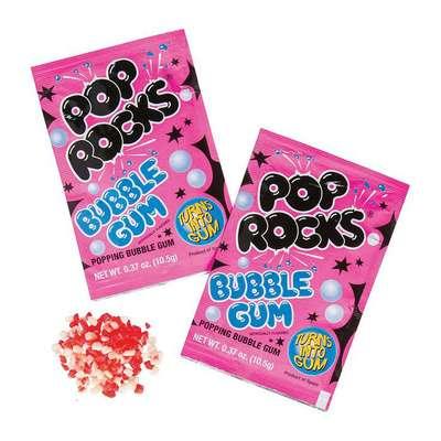 Жевательная резинка взрывные кристаллы Bubble Gum Pop Rocks 10,5 гр, фото 2