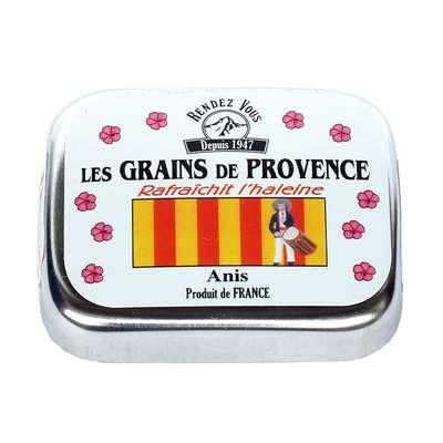 Леденцы освежающие со вкусом мяты и аниса Зёрна Прованса Rendez Vous 16 гр, фото 1