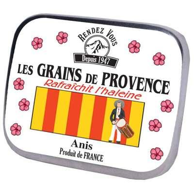 Леденцы освежающие со вкусом мяты и аниса Зёрна Прованса Rendez Vous 16 гр, фото 2