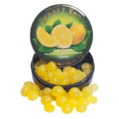 Леденцы Лимон Sour Lemon Rendez Vous 43 гр, фото 4