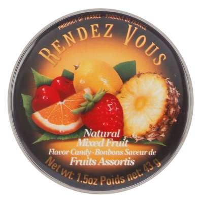 Леденцы Фруктовое ассорти Mixed Fruit Rendez Vous 43 гр, фото 2