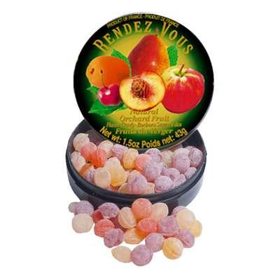 Леденцы Садовые фрукты Orchard Fruit Rendez Vous 43 гр, фото 3