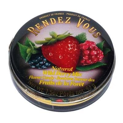 Леденцы Лесные ягоды Wild Berry Mix Rendez Vous 43 гр, фото 1