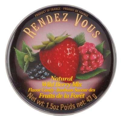 Леденцы Лесные ягоды Wild Berry Mix Rendez Vous 43 гр, фото 2