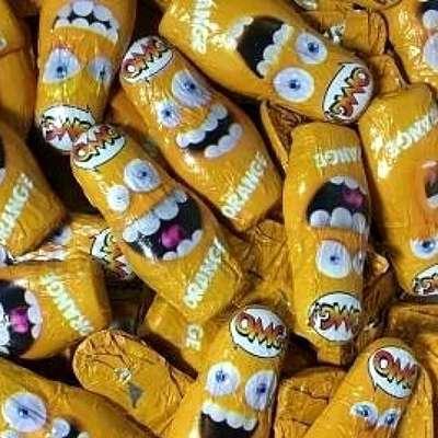 Шоколадные конфеты Взрывная карамель апельсин OMG! Orange Sorini 100 гр, фото 3