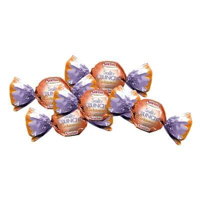 Шоколадные конфеты Крем с соленой карамелью Salty Crunchy Caramel Sorini 100 гр, фото 2