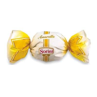 Шоколадные конфеты с кремом вкус ликера Amaretto Sorini 1 кг, фото 1