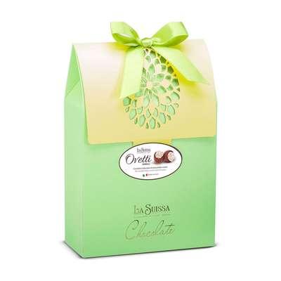 Коробка шоколадных конфет в форме яйца Кремовое Ассорти La Suissa 250 гр, фото 2