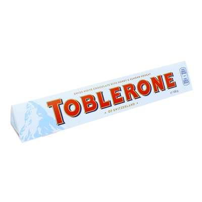 Белый шоколад с медом и миндалем Toblerone 100 гр, фото 1