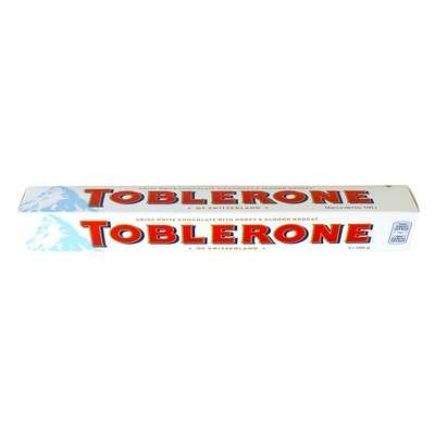 Белый шоколад с медом и миндалем Toblerone 100 гр, фото 3