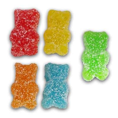 Самый кислый жевательный мармелад Мишки Bears Toxic Waste 142 гр, фото 2
