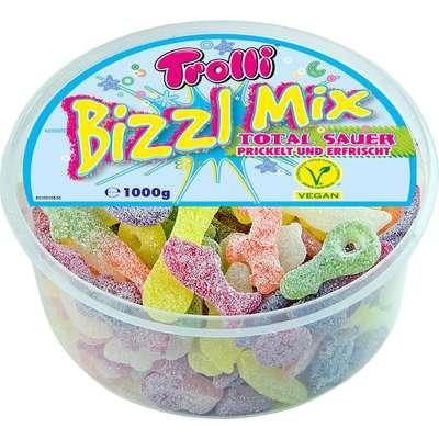Мармелад жевательный Bizzl кислый микс Trolli 1 кг, фото 1