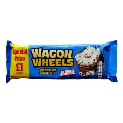 Бисквитное печенье с суфле и джемом Epic Inside Jammie Wagon Wheels 228 гр, фото 2