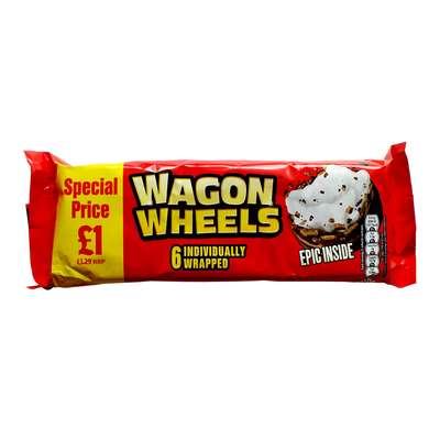Бисквитное печенье с суфле Epic Inside Wagon Wheels 228 гр, фото 2