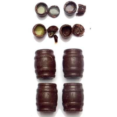 Набор шоколадных конфет с ликером Happy Barrels E.Wedel 200 гр, фото 3