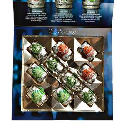 Коробка шоколадных конфет с ликером Happy Barrels Cocktail E.Wedel 200 гр, фото 3