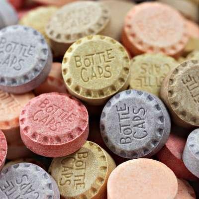 Жевательные конфеты Bottle Caps Soda Pop Candy Wonka 141,7 гр, фото 6