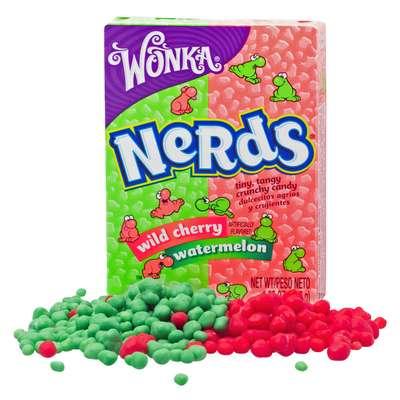 Жевательные конфеты Cherry Watermelon Nerds Wonka 46,7 гр, фото 6