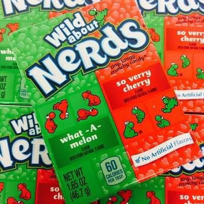 Жевательные конфеты Cherry Watermelon Nerds Wonka 46,7 гр, фото 8
