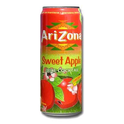 Холодный чай в банке Сладкое Яблоко Sweet Apple AriZona 680 мл, фото 1
