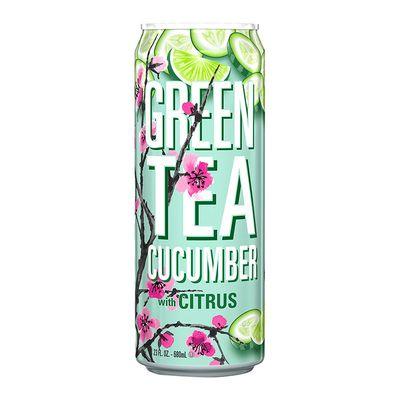 Зеленый чай с огурцом и цитрусом Green Tea Cucumber AriZona 680 мл, фото 1