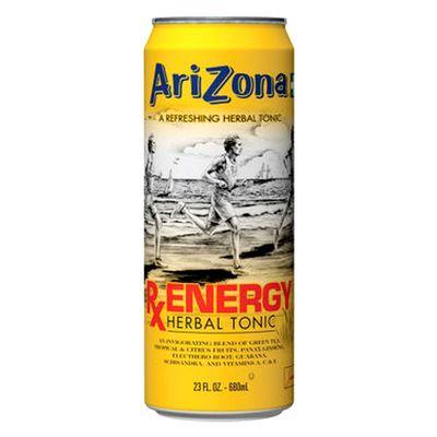 Энергетический чай с соками и травами RX Energy Herbal Tonic AriZona 680 мл, фото 1
