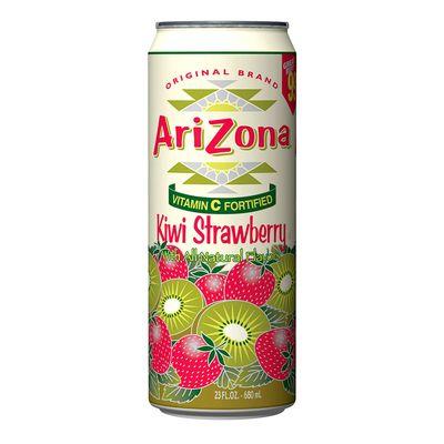 Напиток коктейль Киви Клубника Kiwi Strawberry AriZona 680 мл, фото 1