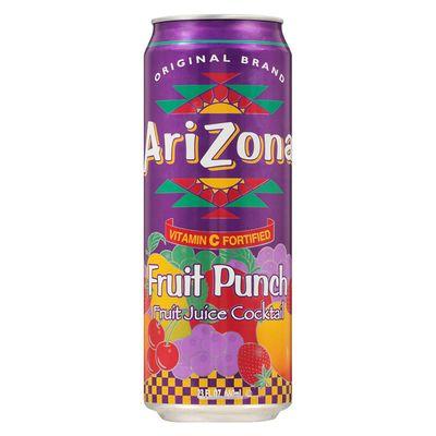 Фруктовый Пунш Fruit Punch Cocktail AriZona 680 мл, фото 1
