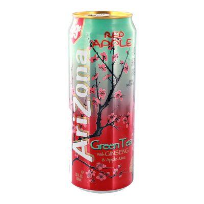 Зеленый чай Красное яблоко Ginseng Red Apple AriZona 680 мл, фото 1