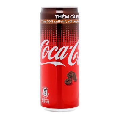Газировка со вкусом кофе Coca Cola 330 мл, фото 1