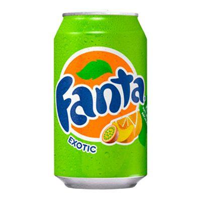 Газировка Exotic Fanta 330 мл, фото 1