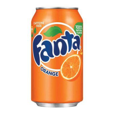 Газировка Orange Fanta 355 мл, фото 1