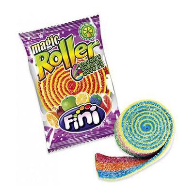 Жевательный мармелад роллер 6-цветный Magic Roller Fini 40 гр, фото 1
