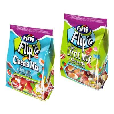 Упаковка мармелада 2-в-1 Cinema Mix и Sour Little Mix Flip It Fini 280 гр, фото 1