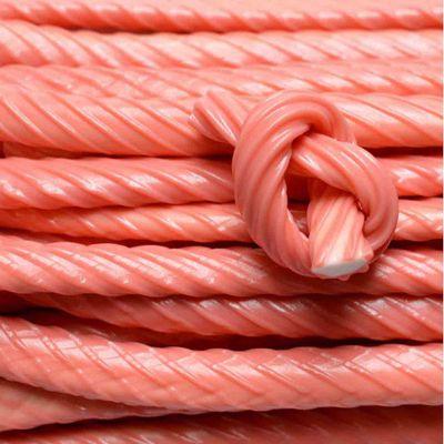 Жевательный мармелад Жгутики гигантские Клубника розовые Fini 100 гр, фото 1