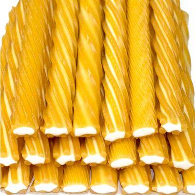 Жевательный мармелад Жгутики гигантские Апельсин Fini 100 гр, фото 1