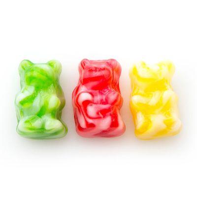 Жевательный мармелад Мишки двухцветные Fini 100 гр, фото 2