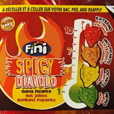 Мармелад на развес Дьявол острый вкус 4 уровня Fini 100 гр, фото 3